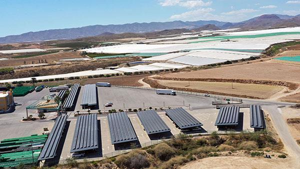 Instalación de autoconsumo fotovoltaico en Agrícola Perichán - EDF Solar