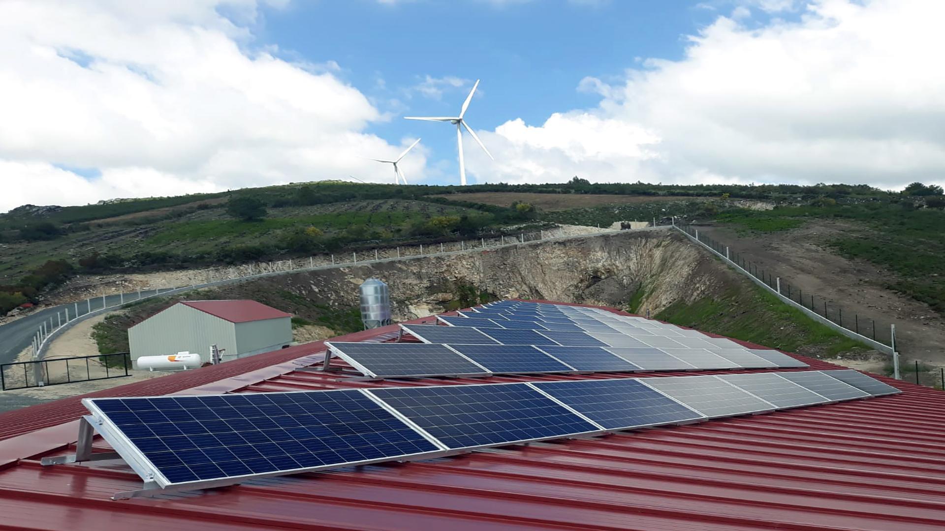 Instalación de autoconsumo fotovoltaico en Gateira | EDF Solar