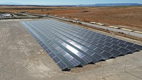 Instalación de autoconsumo fotovoltaico en Porcibalsa - EDF Solar