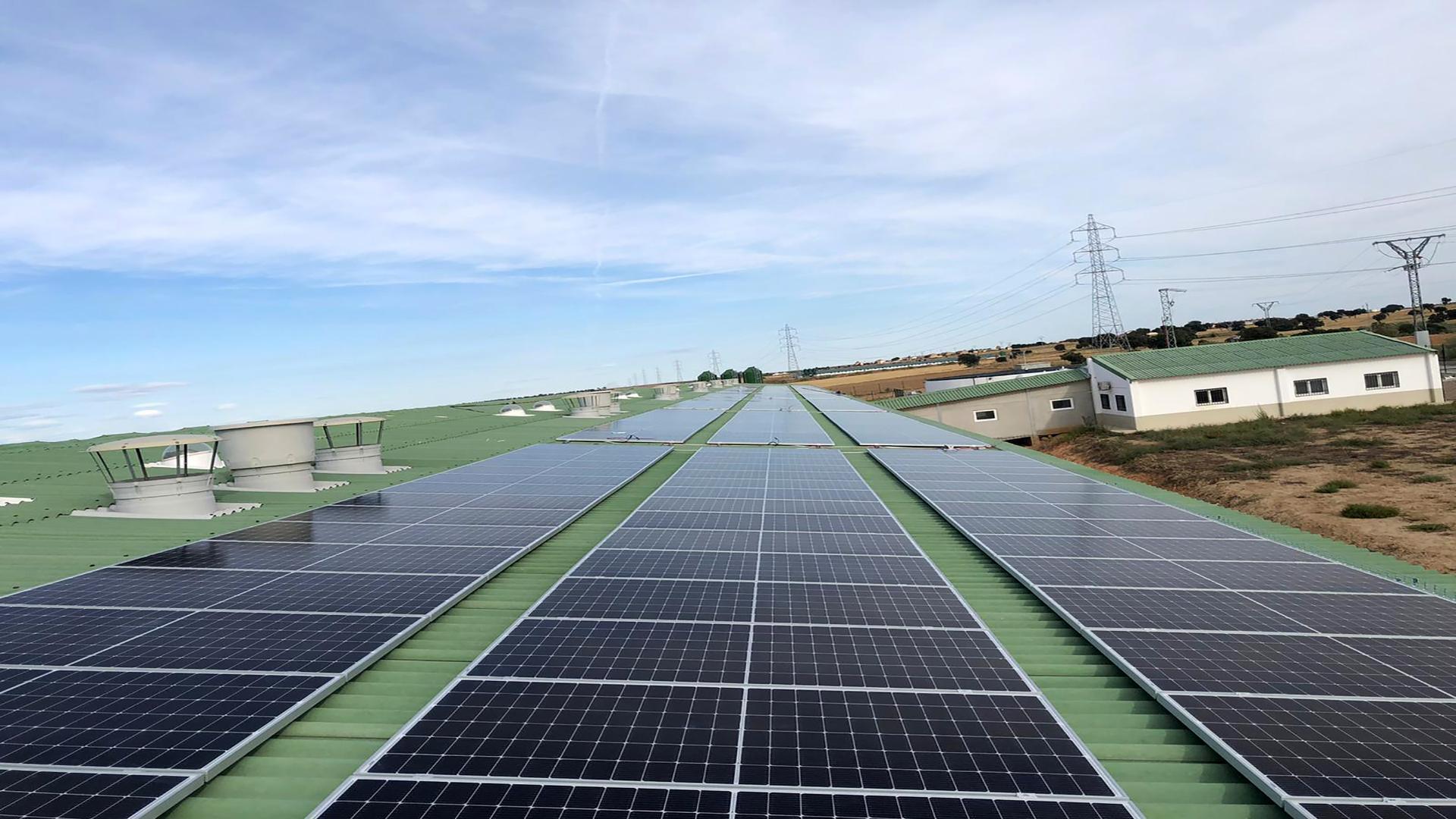 Instalación de autoconsumo fotovoltaico en Sta.Ana   EDF Solar