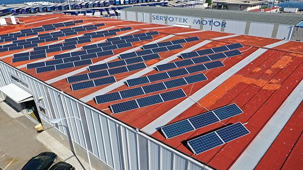 Instalación de autoconsumo fotovoltaico en Reparaciones Navales Díaz | Eidf Solar