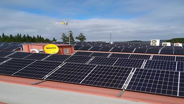 Instalación de autoconsumo fotovoltaico en Moonoff| Eidf Solar