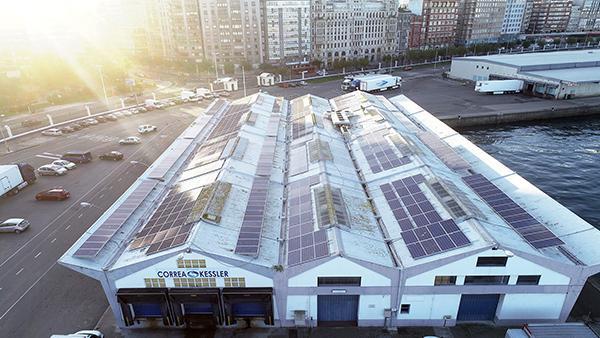 Instalación fotovoltaica de autoconsumo en Correa Kessler | Eidf Solar