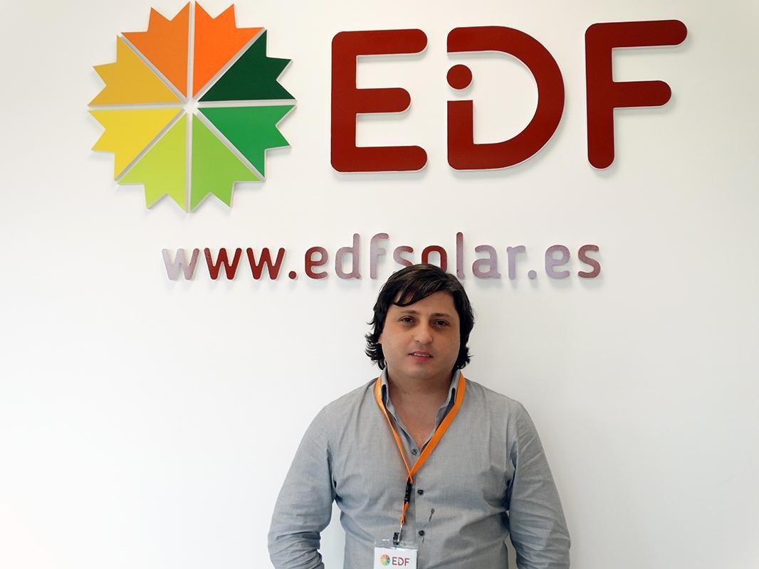 Jose Manuel Portela-tecnico de proyectos en EDF Solar