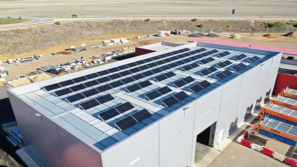 Instalación de autoconsumo fotovoltaico en Autplata | EDF Solar
