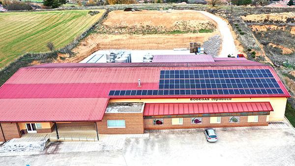 Instalación de autoconsumo fotovoltaico en Bodega Copaboca Sotillo | EDF Solar