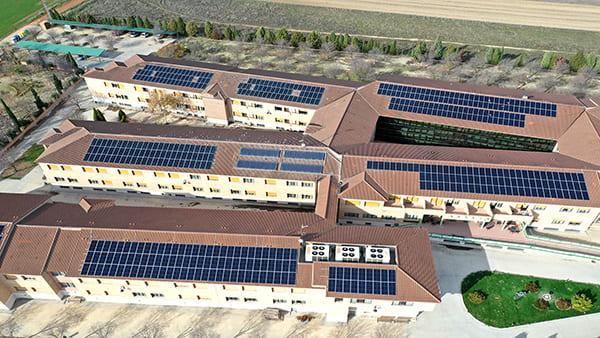 Instalación de autoconsumo fotovoltaico en Residencia Nueva Oliva | Eidf Solar