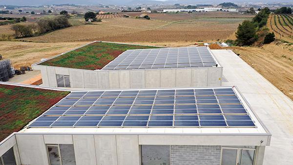 Instalación de autoconsumo fotovoltaico en Bodegas Pinord | EIDF Solar