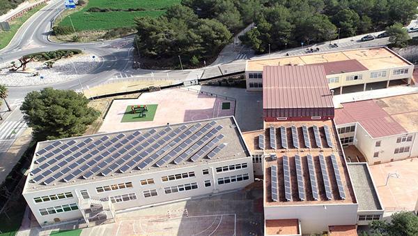 Instalación de autoconsumo fotovoltaico en Ecole Bel Air | EIDF Solar