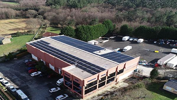 Instalación autoconsumo fotovoltaico en Jamones Otero | EiDF Solar