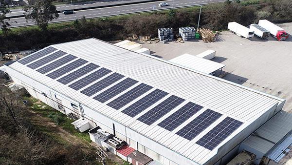 Instalación autoconsumo fotovoltaico en Noriberica | EiDF Solar