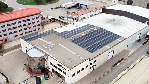 Instalación de autoconsumo fotovoltaico en La Granja Foods | EIDF Solar