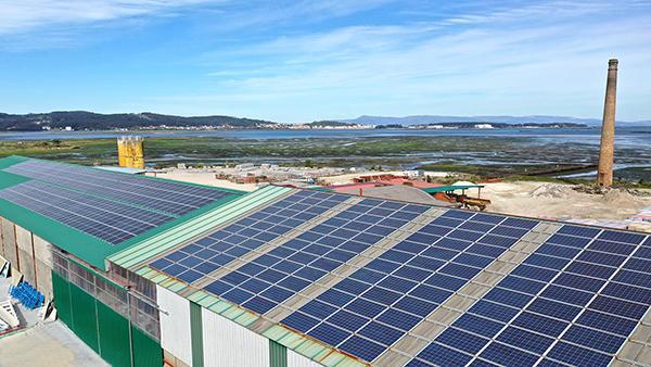 Instalación de autoconsumo solar fotovoltaico en Pretensados Campo (Precavi)