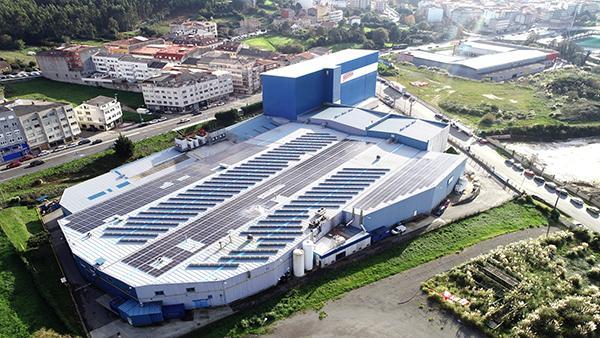 Instalación de autoconsumo fotovoltaico en Grupo Nueva Pescanova-Arteixo | EiDF