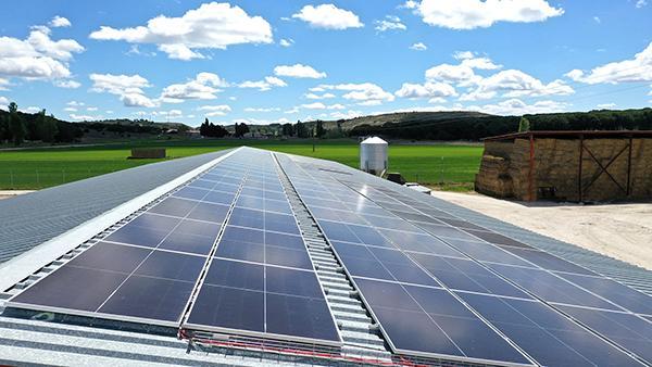 Instalación fotovoltaica autoconsumo SAT Cascalejos   EiDF