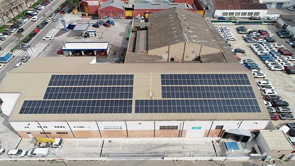 Instalación de autoconsumo fotovoltaico en Ruibal Losada   EiDF Solar