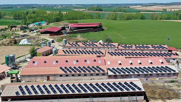 Instalación de autoconsumo fotovoltaico en SAT Parralejo   EiDF