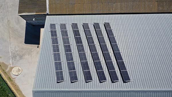 Instalación de autoconsumo fotovoltaico en Cooperativa Valle Esgueva   EiDF