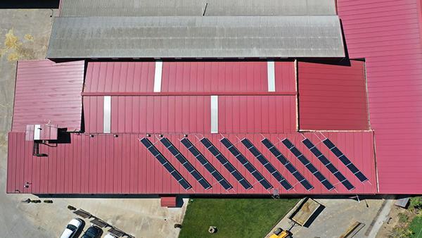 Instalación fotovoltaica de autoconsumo en SAT Los Francos   EiDF Solar