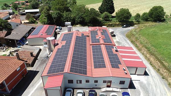 Instalación autoconsumo fotovoltaico en Queixería Barral | EiDF