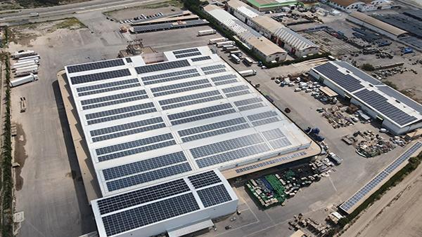 Instalación de autoconsumo fotovoltaico en Urcisol   EiDF