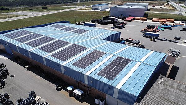 Instalación fotovoltaica autoconsumo Tuberías Barcia | EiDF