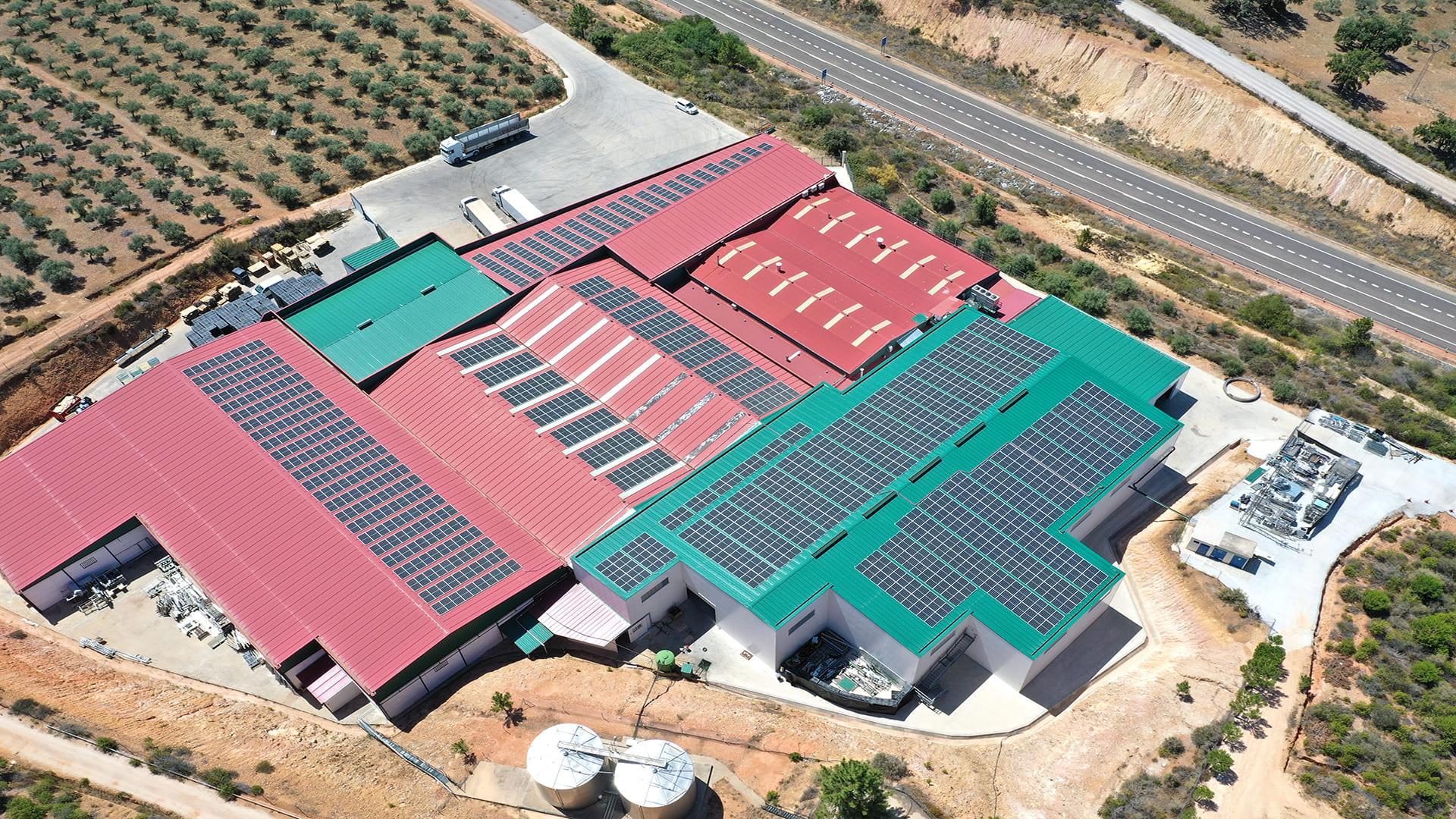 Instalación fotovoltaica de autoconsumo en Aguas Fondetal | EiDF