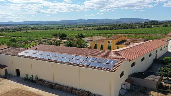 Instalación fotovoltaica de autoconsumo en Parató Vinícola   EiDF