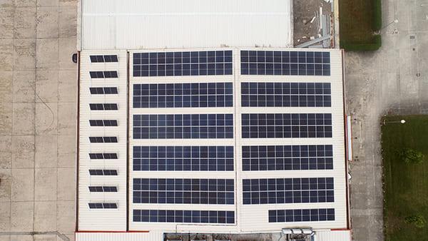 Instalación de autoconsumo fotovoltaico en SLAN   EiDF