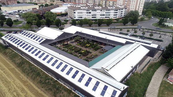 Instalación de autoconsumo fotovoltaico en Arvena   EiDF