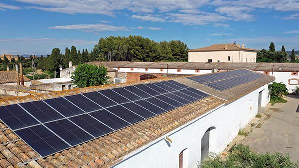 Instalación fotovoltaica autoconsumo en Cavas Oriol Rossell   EiDF