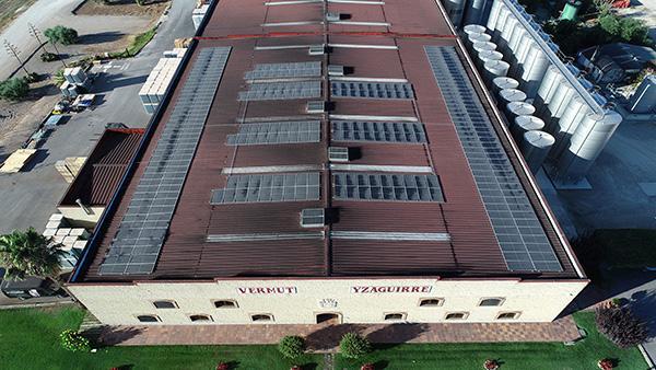 Instalación de autoconsumo fotovoltaico en Bodegas Yzaguirre | EiDF