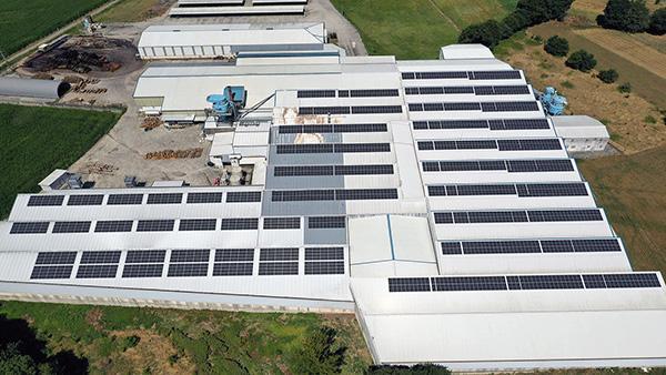 Instalación fotovoltaica de autoconsumo en Aldama Europea | EiDF Solar