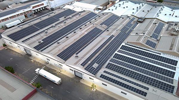 Instalación fotovoltaica de autoconsumo en Industrias Alegre | EiDF