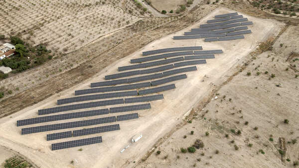Parque de generación fotovoltaica Huércal-Overa | EiDF Solar