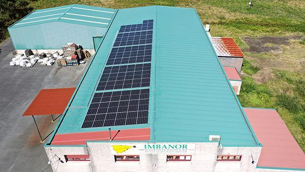 Instalación autoconsumo fotovoltaico en Imbanor| EiDF