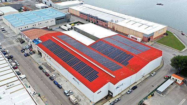 Instalación de autoconsumo fotovoltaico en Pescados Ibáñez | EiDF